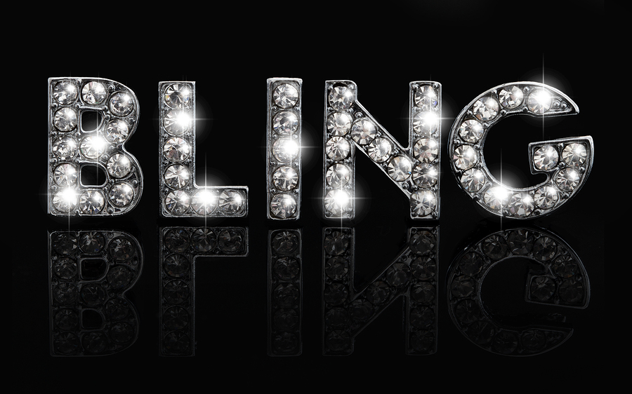 Bling On Black